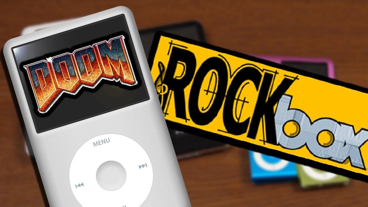 Dual Booting an iPod and Running DOOM - Rockbox Installation & Demo