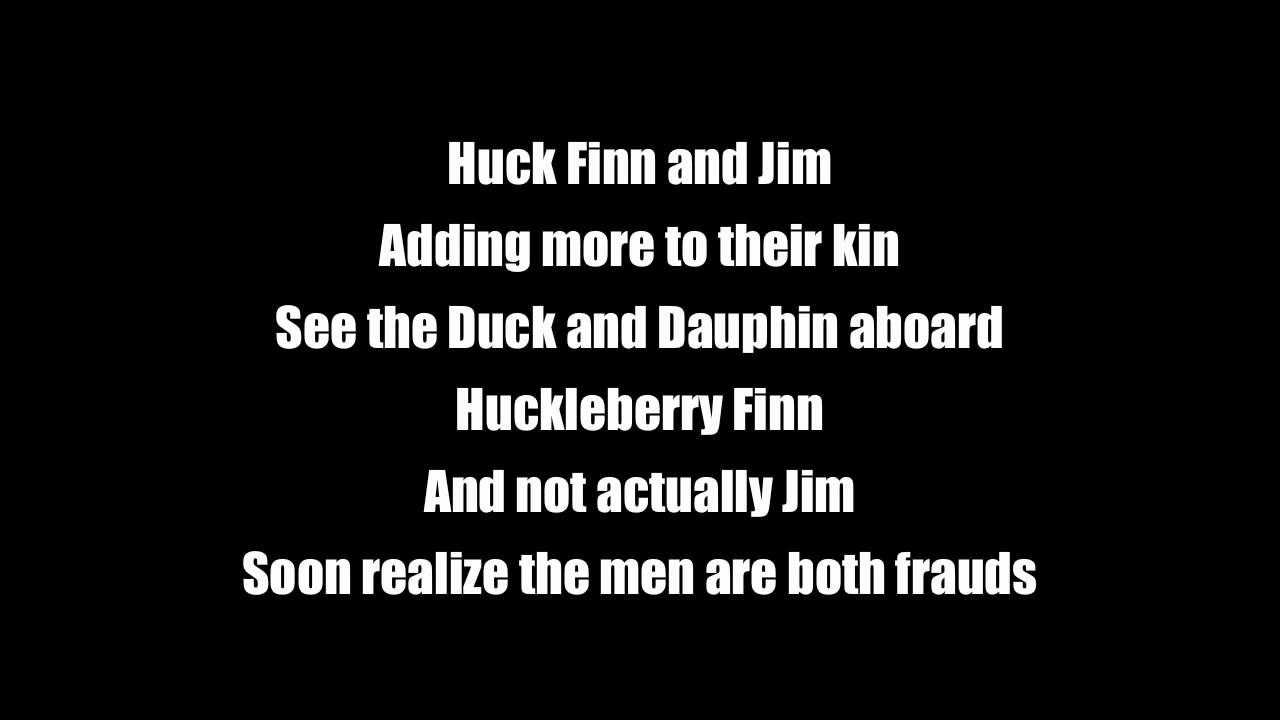 huck finn and jim demo an original song huck finn and jim demo an original song