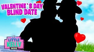 VALENTINE'S DAY BLIND DATE | Fortnite short Film