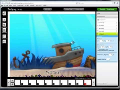 How To Make A Story App/ EBook Using Talespring (.com)