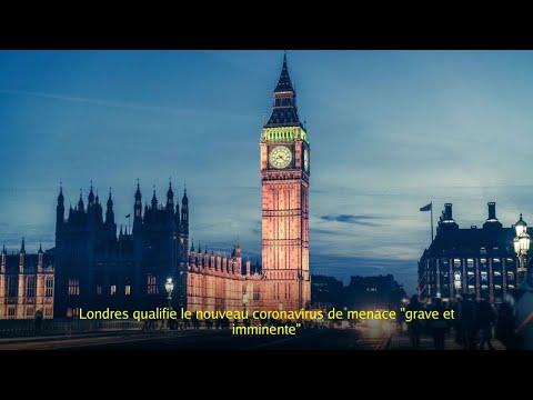 Londres qualifie le nouveau coronavirus de menace