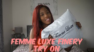 Femme Luxe Finery Haul + TRY ON | Raquel Sewell