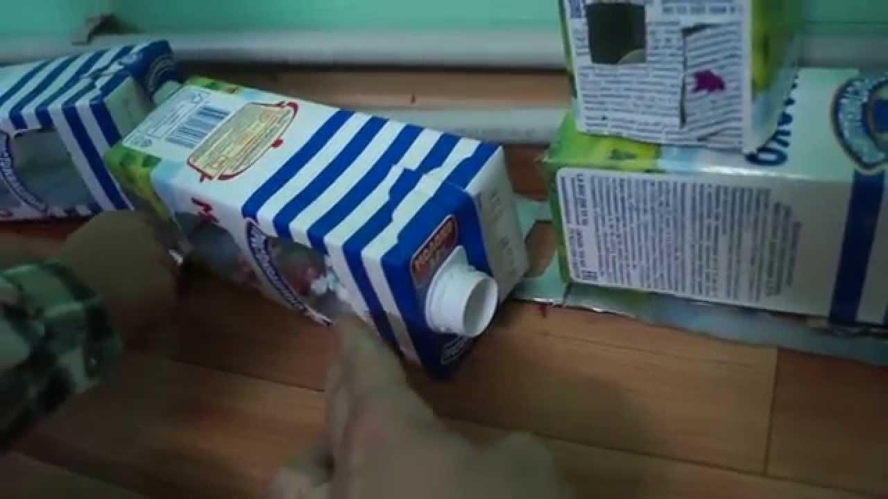 Что можно сделать из коробки из под молока своими руками фото фото 37