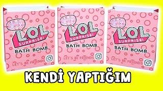 LOL Banyo Bombası içinde Ne Var? Kendi Yaptığım | DIY LOL Charm Fizz