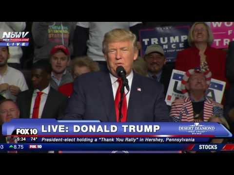 FULL: Donald Trump Thank You Rally - Hershey, Pennsylvania