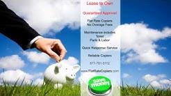 Miami Ft. Lauderdale Copier Leasing and Copier Rental Flat Rate Copiers