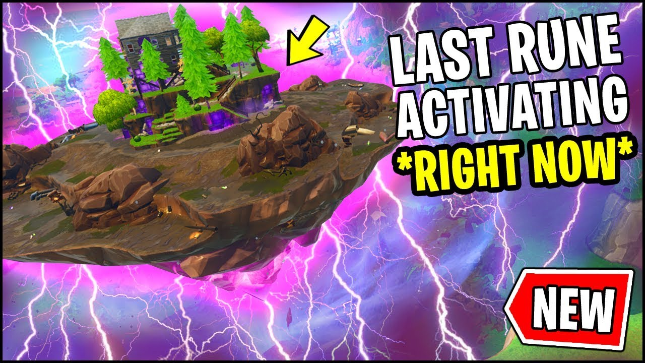 NEW FORTNITE RUNE EVENT IS HAPPENING *RIGHT NOW*!! CUBE ...
