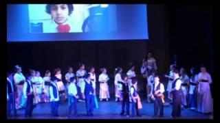 """Gli alunni della Scuola Primaria Nino Ferraù in """"U Ghiusaru"""" e """"U Zappaturi"""""""
