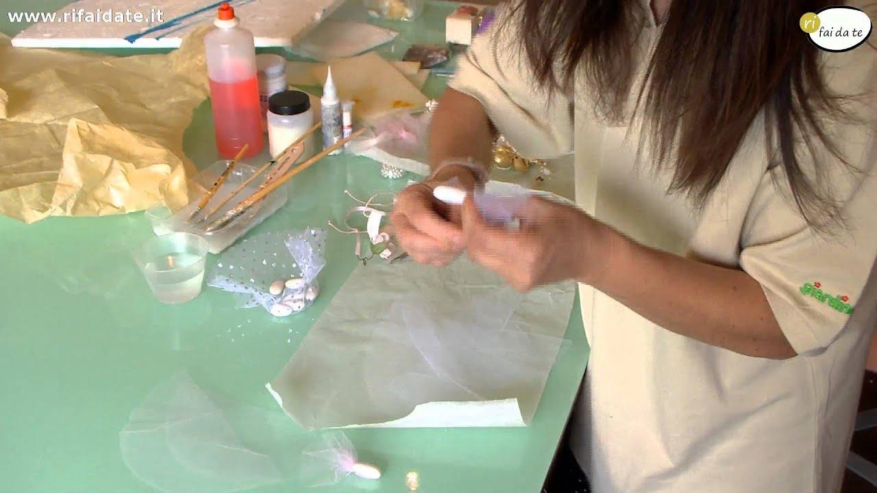 Conosciuto Come fare un sacchetto per confetti fai da te - YouTube VV92