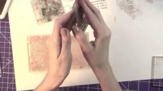 Видео обзор штампов для скрапбукинга