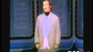 Andy Kaufman SPELLBINDS Bob Goulet and Carol Channing with his rendition of You'll Never Walk Alone