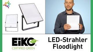 LED-Außenstrahler Eiko Floodlight - Produktvideo und Test