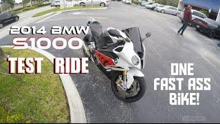 2014 BMW S1000rr Test Ride - Luxury Rocket!