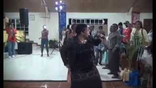 Evangelist Maxine Duncan Performing Live in Mandeville, Jamaica W I  May 3rd, 2014