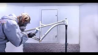 What does it really take to paint a bicycle frame | Whole process | by VELOVE