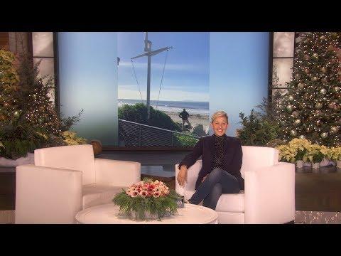 Ellen's Anniversary Gift to Portia Proves Size Matters