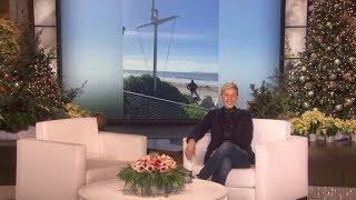 Ellen's Anniversary Gift to Portia Proves Size Matters