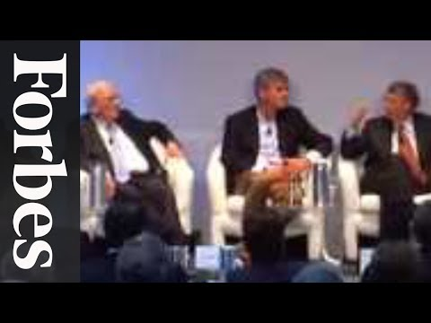 The Gates On Spending Warren Buffett's Money - Forbes 400 Summit | Forbes