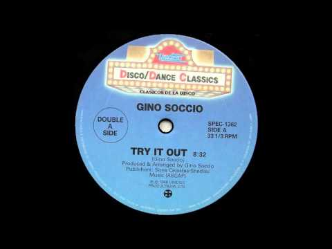"""Gino Soccio """" Try It Out """" ( Version Discotheque )"""