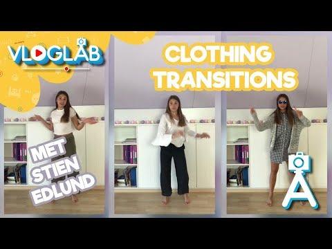 De leukste clothing transitions met Stien Edlund | Vloglab