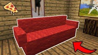 как сделать диван майнкрафт