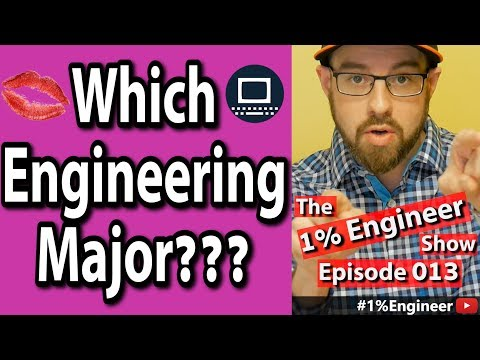 How To Pick The Right Engineering Major - The #1%Engineer Show 013