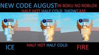New Code In August | Boku No Roblox : Remastered | (HHHC) HalfHotHalfCold TODOROKI SHOWCASE | REVAMPED