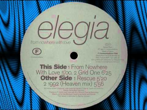 "ELEGIA   ""From Nowhere With Love""  12"""