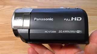 видеокамера Panasonic HC-V720M короткий обзор