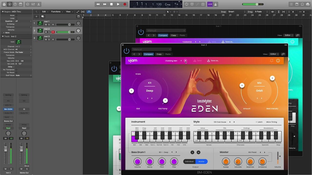 UJAM beatmaker Overview 自動節奏機 | 帝米數位音樂