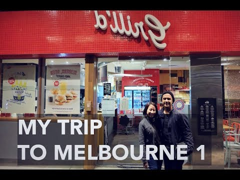 My trip to Melbourne - Part 1
