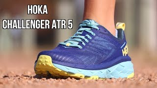 HOKA ONE ONE CHALLENGER ATR 5 REVIEW | BOTH TRAIL and ROAD RUNNNG SHOE?