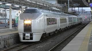 9432M 651系 K103編成 日立駅発車