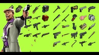 MOSTRANDO TODAS LAS ARMAS DE SAINTS ROW 2