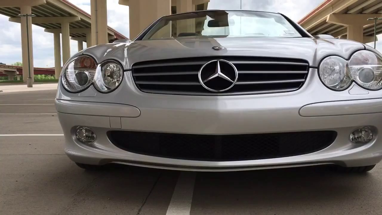 for sale by owner only 25k miles mercedes sl500 23 995 [ 1280 x 720 Pixel ]
