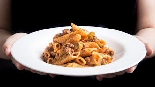 5 minute  One Pot -Pasta Penne Bolognese Recipe