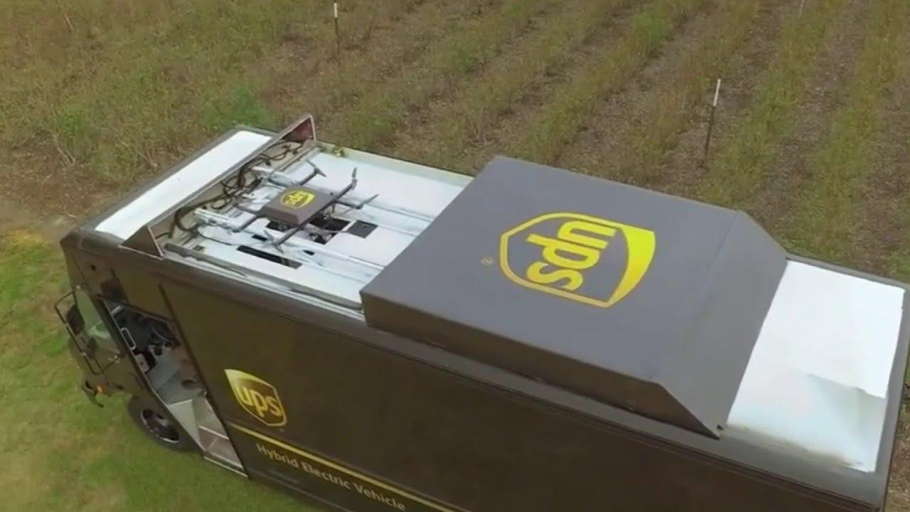 UPS Telah Curi Start untuk Perlombaan Pengiriman Menggunakan Drone