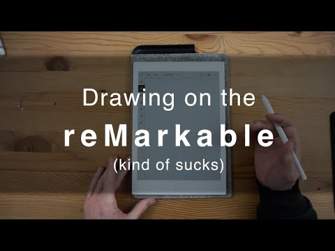 reMarkable Tablet review (brutally honest) - i.e. using it to draw