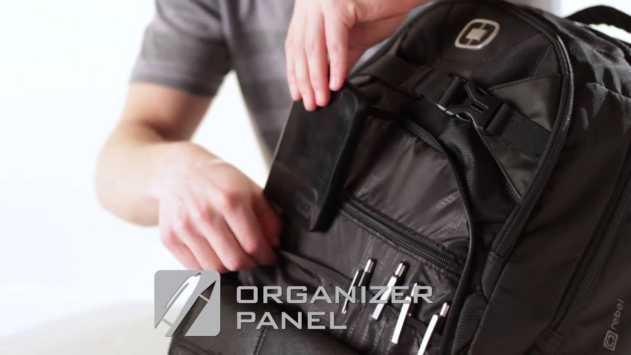 BagKing.com OGIO Rebel Laptop Backpack - YouTube