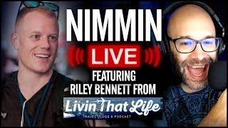 YouTube and Living That Life With Riley Bennett | Nimmin Live thumbnail