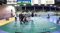 TOP12 Badminton Chambly 1 vs Fos sur Mer Terrain 2