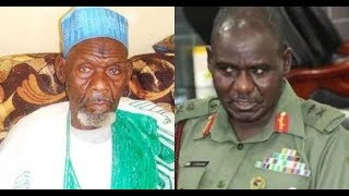 Nigerian army mourns as Tukur Buratai loses father