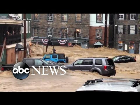 Searchers locate body of guardsman who went missing in Maryland floods