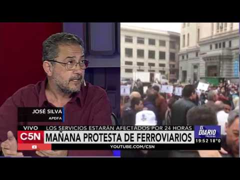 C5N - El Diario: Protesta de Ferroviarios