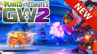 Plants Vs Zombies Garden Warfare 2 Part 1 - New Gameplay & Characters! - NEW PvZ GW 2 Trailer