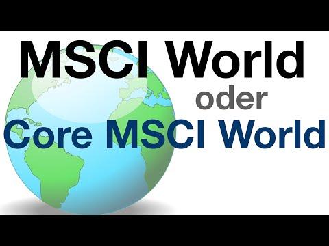 MSCI World oder