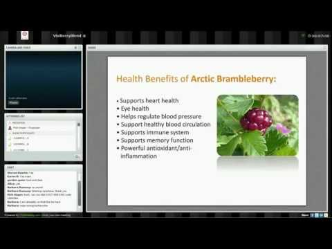 Visi Scandinavian Berry Blend Benefits