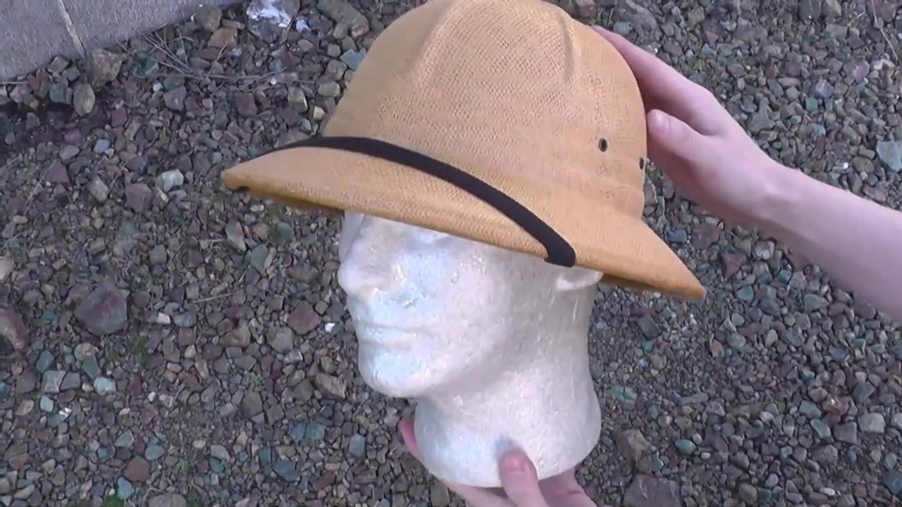 847fc08a1de1a ROTHCO ロスコ 5671 G.I. Type Vietnam Style Pith Helmet 帽子 ヘルメット ベトナム・スタイル ピス  ヘルメット