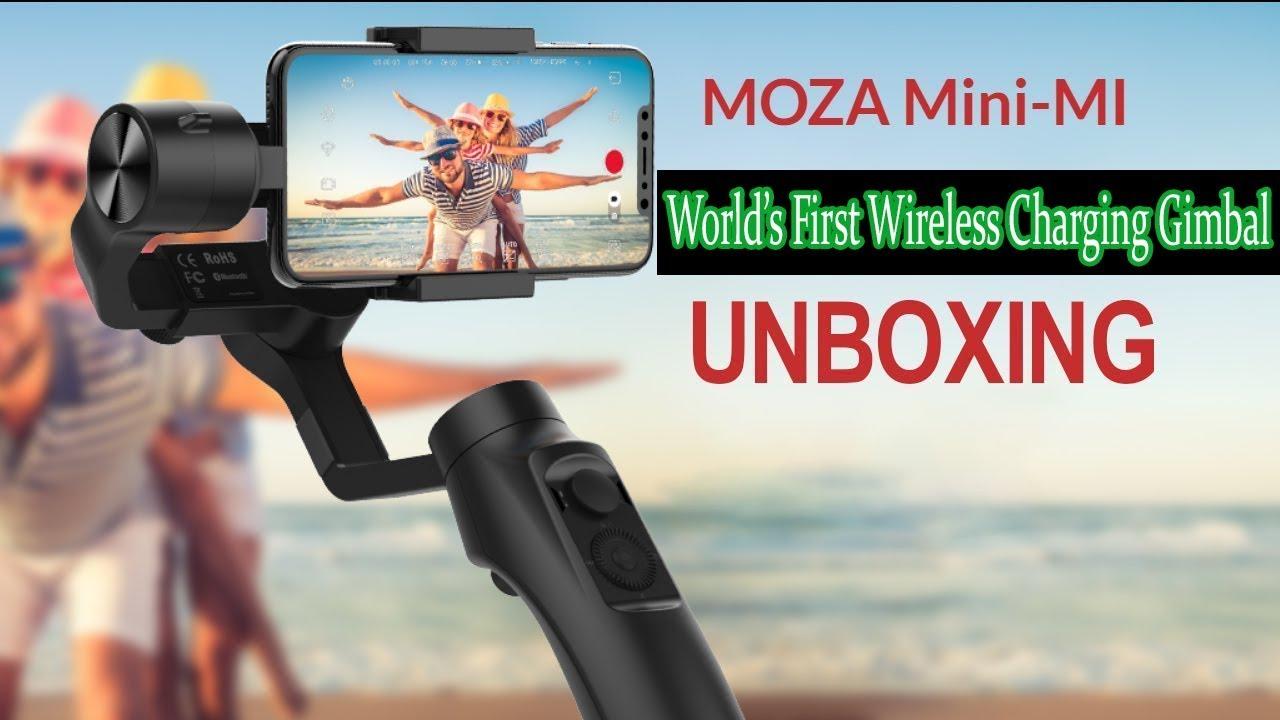 Unboxing Moza Mini Mi  fac962c3d3