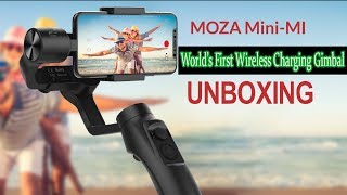 Unboxing Moza Mini Mi | Moza Mini Mi Review | Moza Mini Mi Wireless Charging Gimbal